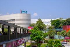 IMM ujścia centrum handlowe jest wielkim ujścia centrum handlowym w Singapur Zdjęcie Stock