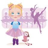Imma is ballerina Stock Afbeelding