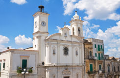 Immacolata教会  米内尔维诺穆尔杰 普利亚 意大利 免版税库存图片