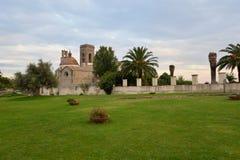 Immacolata church in Barumini, Sardinia, Italy. The Immacolata church in Barumini, island of Sardinia, Italy stock image