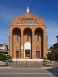 圣玛丽亚Immaculata二卢尔德在梅斯特雷,意大利 免版税图库摄影