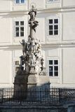 Immaculata Maria pillar Banska Stiavnica Stock Photography