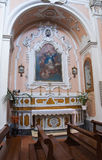 Immaculate Church. Mottola. Puglia. Italy. Stock Image