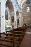 Immaculate Church. Mottola. Puglia. Italy. Stock Photo