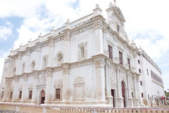 Immaculate colonial style St Pauls Church Diu gujarat india Royalty Free Stock Photos