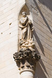 Immaculate column. Lecce. Puglia. Italy. Royalty Free Stock Images