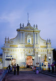 Immaculate Conception Cathedral, Pondicherry, India Royalty Free Stock Photography
