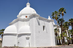 Immaculate Conception Church, Ajo, Arizona Stock Image