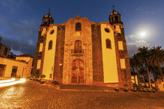 Immaculate Conception Church in La Orotava. Orotava, Tenerife, Canary Islands, Spain royalty free stock photo