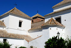 Immaculate Conception church, Mijas. Royalty Free Stock Photo