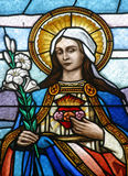Immaculate Heart of Mary Royalty Free Stock Images