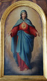 Immaculate Heart of Mary Stock Image