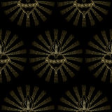 Immaculate Heart Virgin Mary Seamless Pattern royalty free illustration