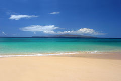 Immaculate tropical beach Royalty Free Stock Images