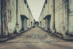 Immagazzini abbandonato Fotografie Stock Libere da Diritti
