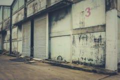 Immagazzini abbandonato Fotografia Stock Libera da Diritti