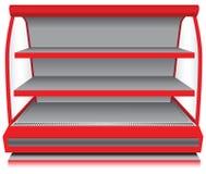 Immagazzini il contro frigorifero Fotografia Stock