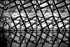 Immagazzini il soffitto fotografie stock libere da diritti