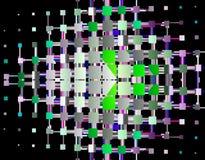 Immagazzini l'immagine della geometria di frattalo Immagini Stock Libere da Diritti