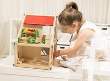 Immaginazione dei bambini o concetto di creatività Fotografie Stock Libere da Diritti