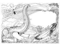 Immaginazione del telaio della farfalla dello scoiattolo dell'uccello di elefante della fauna selvatica Fotografia Stock Libera da Diritti
