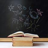 Immaginazione di nuovo alla scuola Fotografia Stock Libera da Diritti