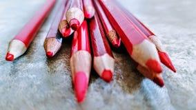 Immaginazione rossa fotografie stock libere da diritti