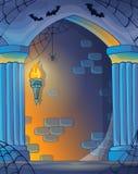 Immagine 1 dell'alcova della parete Fotografie Stock Libere da Diritti