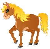 Immagine 1 di tema del cavallo Fotografia Stock Libera da Diritti