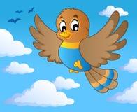 Immagine 1 di tema dell'uccello Immagine Stock