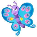Immagine 1 di tema della farfalla Fotografie Stock
