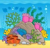 Immagine 2 di tema della barriera corallina royalty illustrazione gratis