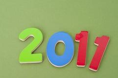 Immagine 2011 di concetto Fotografia Stock Libera da Diritti