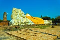 Immagine adagiantesi del Buddha. Fotografia Stock