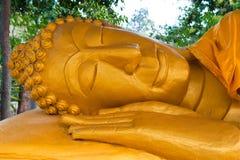 Immagine adagiantesi del Buddha Fotografia Stock
