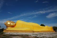 Immagine adagiantesi di Buddha Immagini Stock