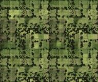 Immagine aerea di terreno coltivabile Fotografia Stock Libera da Diritti