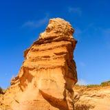 Immagine alta vicina della gola di Ard del lago Porto Campbell National Park sulla grande strada dell'oceano, Victoria, Australia fotografia stock libera da diritti