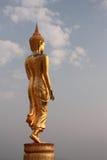Immagine ambulante del Buddha immagine stock libera da diritti