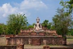 Immagine antica di Buddha. Fotografie Stock Libere da Diritti