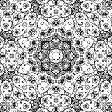 Immagine astratta in bianco e nero del modello royalty illustrazione gratis