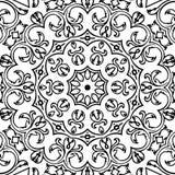 Immagine astratta in bianco e nero del modello illustrazione di stock