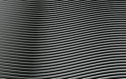 Immagine astratta d'argento delle linee fondo 3d rendono Fotografie Stock Libere da Diritti