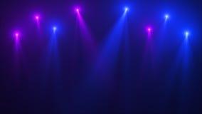 Immagine astratta del chiarore di illuminazione Immagine Stock