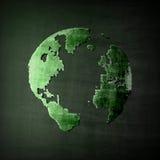 Immagine astratta del globo Immagini Stock Libere da Diritti