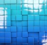 Immagine astratta della priorità bassa dei cubi Fotografia Stock Libera da Diritti