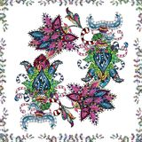 Immagine astratta di colori royalty illustrazione gratis