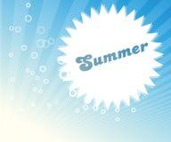 Immagine astratta di estate illustrazione di stock