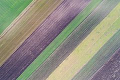 Immagine astratta di terreno coltivabile Immagini Stock Libere da Diritti