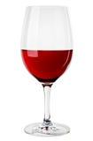 Immagine astratta di un vetro di vino Fotografia Stock